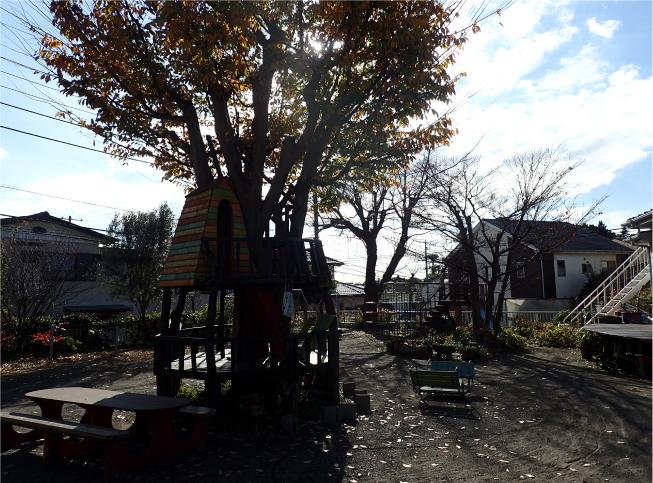 幼児園の園庭写真