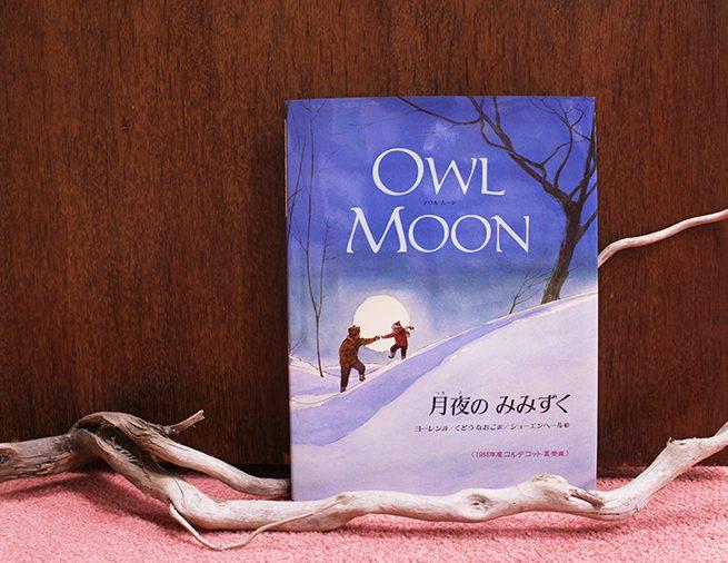 冬のよふけ、父さんと2人で森へ… コルデコット賞受賞の詩の絵本『月夜のみみずく』