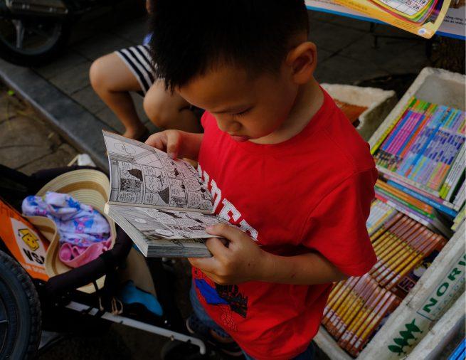 ベトナムの本屋さんに行ってみました!