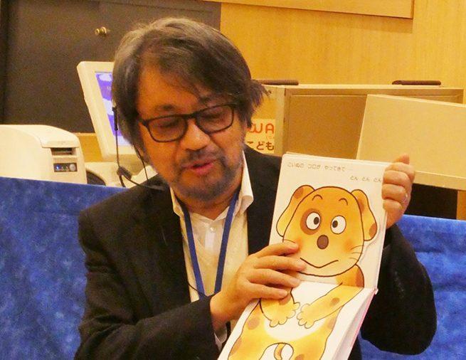未来屋書店幕張新都心店で、きむらゆういちさんのミニトーク付おはなし会イベントがありました!