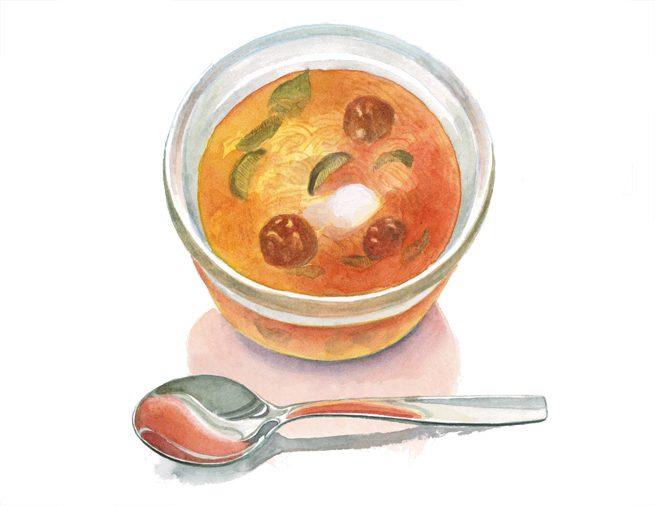 Kapustnica (カプスニツァ) 酢キャベツのスープ