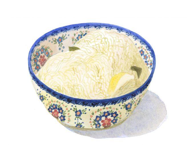 Kyslá kapusta(キスラー・カプスタ)酸っぱいキャベツの漬物