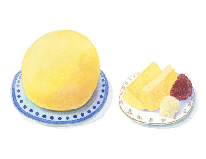 Veľkonočná hrudka (ヴェリュコノチナー フルトカ)復活祭の卵料理