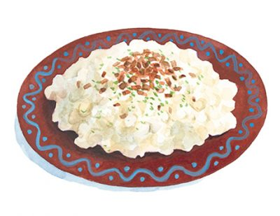 Bryndzové halušky(ブリンゾヴェー ハルシュキ)前編 スロヴァキア式ニョッキの羊チーズあえ