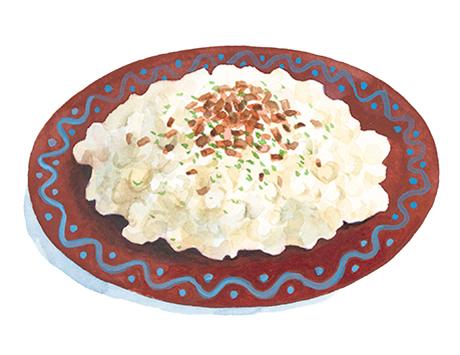 Bryndzové halušky(ブリンゾヴェー ハルシュキ)スロヴァキア式ニョッキの羊チーズあえ 前編